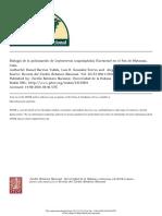 Biología de La Polinización de Leptocereus Scopulophilus (Cactaceae) en El Pan de Matanzas