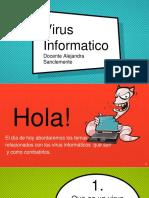 Virus Informáticos grado Noveno