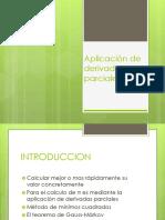 Aplicación de Derivadas Parciales Diapositivas