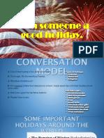 Wish Someone a Good Holiday