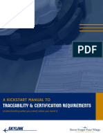 Kickstart Guide to Traceability and Cert