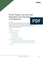 Power Supply Line Regulation