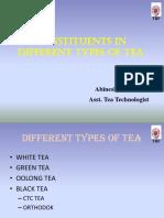 Constituents of Tea