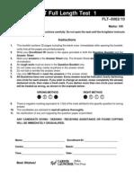 IIFT FLT 1_Questions