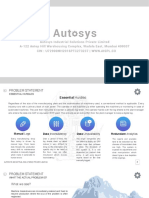 Introductory Note - Autosys