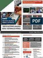 Electronica Analogica Gidital y Electronica de Potencia