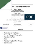 Aerobraking Cost Risk Decisions Ppt