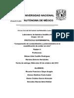 cuantificacion de Acidez en Vinos (Protocolo)