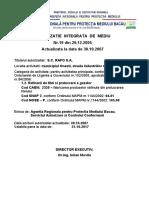 Rafo S.a. Onesti Autorizatie