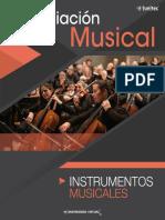 Apreciación Musical Instrumentos Musicales