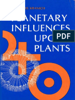 Planetary Influences Upon Plants - Cosmological Botany - E.M. Kranich