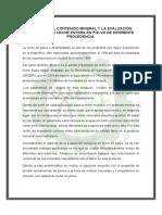 Analisis del contenido mineral de leche en polvo y evaluacion de diferentes procedencias