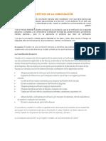 OBJETIVOS DE LA CONCILIACIÓN