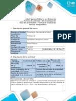 Guía de actividades y rúbrica de evaluación - Tarea 3 - Diagnóstico.pdf