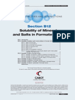 FORMATEMANUAL B12 Solubility of Minerals and Salts in Formate Brines