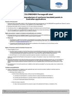 ColorbondPermagardInsulatedPanelSampleWarrantyMay2012