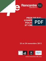 Prof de Fle Compétences, Polyvalence Et Créativité