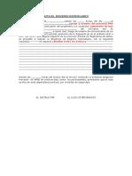 Acta de Registro Domiciliario