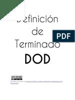 DoR y DoD