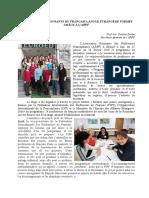 Article Formation Mentors ARPF