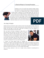 BODYBUILDING  POLIQUIN, Charles - Guide to Charles Poliquin's Training Principles