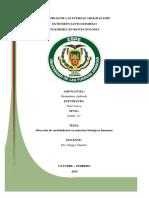 Detección Orina Cueva Informe 1