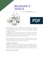 Robabilidade e Estatística