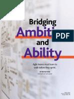 Bridging Ambition Ability