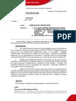 Informe de Lev Obsevaciones Acostambo