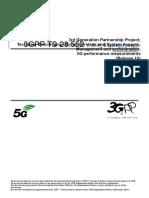 5G Performance Measurement