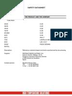 Refractory brick data sheets