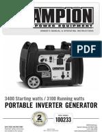 Champion generator manual