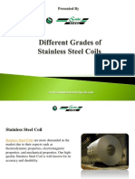 Grades of Stainless Steel Coils