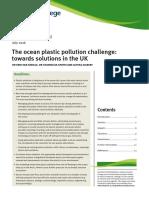 The Ocean Plastic Pollution Challenge Grantham BP 19 Web