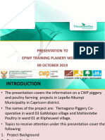 Presentation to EPWP on Tlemagano Piggery and Mahlontebe Poultry in Lepelle-Nkupi Municipality  09 October 2019.pptx
