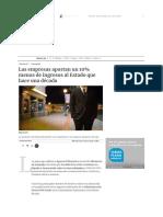 29 Elboletin.com Las Empresas Aportan Un 10% Menos de Ingresos Al Estado Que Hace Una Década