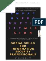 Social Skills for Infosec Professionals