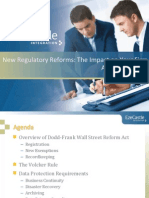 New Regulatory Reforms