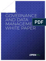 Data Governance - ODM White Paper