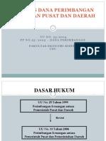 1. Dana Perimbangan Keuangan Pusat Dan Daerah (1)