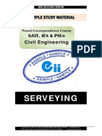 Gate Ies Postal Studymaterial for Surveying Civil