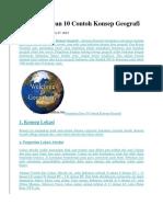 Pengertian Dan 10 Contoh Konsep Geografi.docx