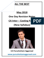 CA Inter Costing Concepts Revision PDF