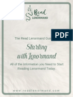 Starting With Lenormand - Read Lenormand-GUIA BUENA