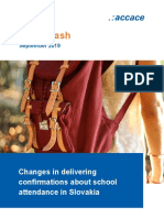 Changes in delivering confirmations about school attendance in Slovakia | News Flash