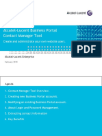 Business Portal Contact Manager Tool
