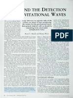 LIGO and the Detection of Gravitational Waves (Barry Barish and Rainer Weiss, Physics Today, 52, 10, 44 (1999))