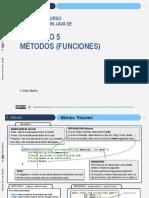 JYOC JAVA Cap05 Metodos (Funciones)