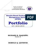 Rpms Portfolio (Deped Design)