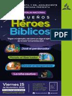 7MA VIGILIA Pequeños héroes de la biblia